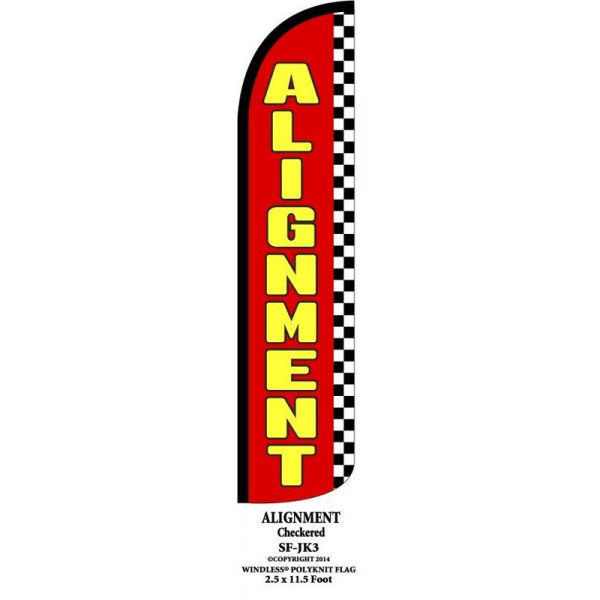 Alignment  ( red / yellow )
